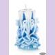 Свеча-резная ручной работы LACE SKY-S (кружева небес), h 9 см TM Aromatte