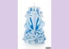 Свеча-резная ручной работы LACE SKY-M (кружева небес), h 11 см TM Aromatte