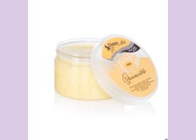 Крем-скраб для тела СОРБЕ сахарный ОРАНЖЕТТО с соком апельсина, ТМ ChocoLatte, 280 гр.