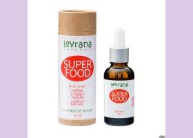 Сыворотка для лица SUPER FOOD суперпитание, 30мл,  ТМ Levrana
