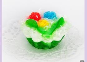 Мыльное ассорти/пирожное НЕРОЛИ-ЖАСМИН, 75 гр/шт