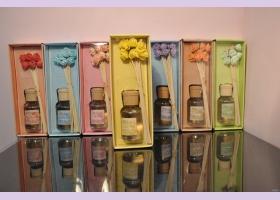 "Арома-диффузер ""цветы"" VANILLA (ваниль) для дома, 100 мл."