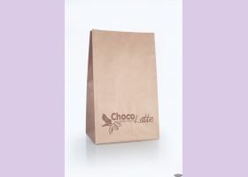 Пакет бумажный из крафт-бумаги ТМ Chocolatte