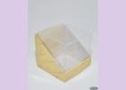 Коробка с пластиковым верхом NATURAL COSMETICS  7,5*7,5*7см