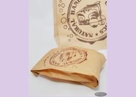 Пакет бумажный NATURAL COSMETICS  22*11*4 см/пергамент